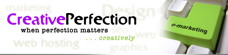 Creative Perfection Banner