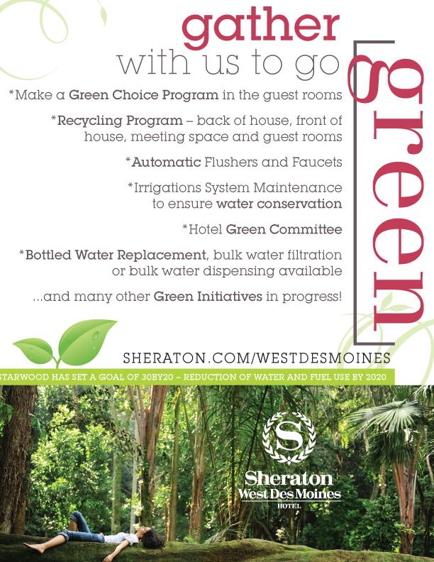 Sheraton Go Green