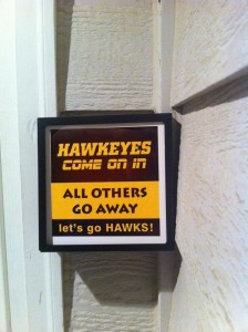 Hawkeye Doorbell Cover