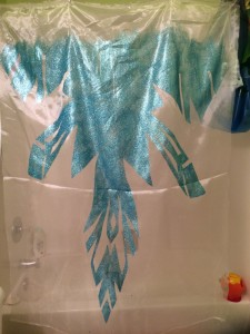 Elsa Cape Drying