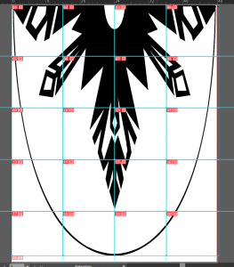 elsa cape in illustrator