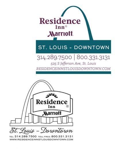 Residence Inn St. Louis Logo Update