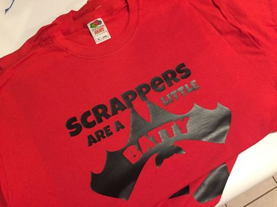 Scrappers tShirt (design & print)