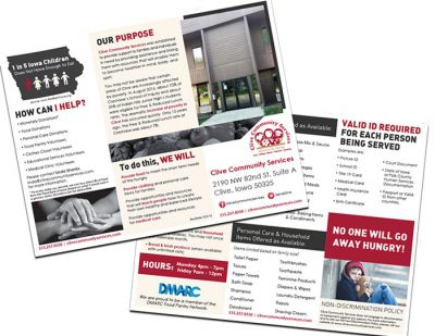 Clive Community Services Brochure