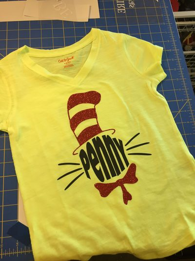 Dr Seuss Shirt (Design & Print)