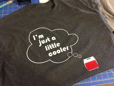 Little Cooler Shirt (Design & Print)